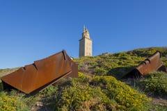 Hercules Tower Fotografering för Bildbyråer
