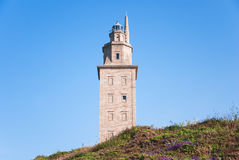 Hercules tower Royalty Free Stock Photo