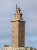 Hercules tower Royalty Free Stock Photo