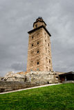 Hercules tower from Corunna, Spain Royalty Free Stock Photo