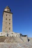 Hercules tower, La Coruña Royalty Free Stock Image