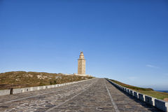 Hercules tower Royalty Free Stock Images