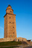 Hercules tower, La Coruna Stock Images