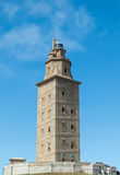 Hercules tower, La Coruna Royalty Free Stock Photo