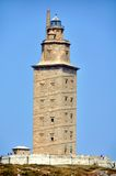 Hercules Tower in La Coruna, Spain Stock Photography