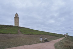 Hercules tower. Stock Photo