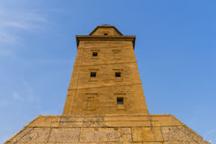 Hercules tower. Royalty Free Stock Photo