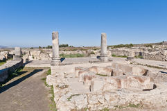 Hercules Works House at Volubilis, Morocco Royalty Free Stock Images