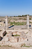 Hercules Works House at Volubilis, Morocco Stock Photo