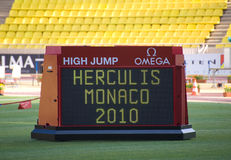 Herculis 2010 - Monaco Royalty Free Stock Photography
