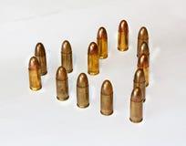 Herd von der Munition stockbilder