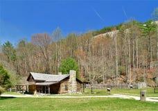 Herdade de Hutchinson no parque estadual de pedra da montanha imagem de stock royalty free