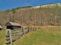 Herdade de Hutchinson no parque estadual de pedra da montanha fotografia de stock