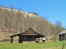 Herdade de Hutchinson no parque estadual de pedra da montanha fotos de stock