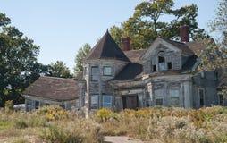 Herdade velha em Maine Fotografia de Stock Royalty Free