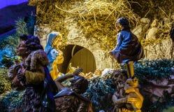 Herdar som älskar, behandla som ett barn Jesus Royaltyfri Fotografi