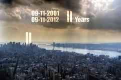 herdenking 911 Stock Fotografie