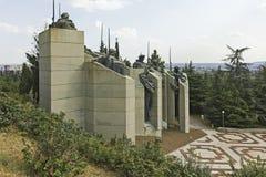 Herdenkings complex de Verdedigers van Stara Zagora, Bulgarije royalty-vrije stock fotografie