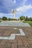 Herdenkings complex de Verdedigers van Stara Zagora, Bulgarije royalty-vrije stock foto