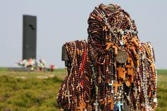 Herdenkings gebied in Vukovar, Kroatië. royalty-vrije stock afbeelding