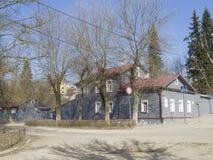 Herdenkings huis-Museum van KE Tsiolkovsky Kaluga royalty-vrije stock fotografie