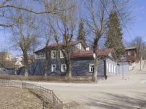 Herdenkings huis-Museum van KE Tsiolkovsky Kaluga royalty-vrije stock afbeelding