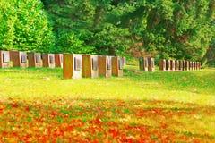 Herdenkings park Royalty-vrije Stock Afbeeldingen