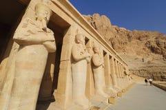 Herdenkings Tempel van Hatshepsut. Stock Foto