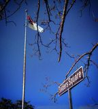 Herdenkingsbegraafplaats Royalty-vrije Stock Foto's