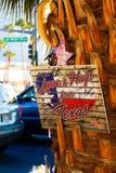 Herdenkingsbericht van Las Vegas die slachtoffers schieten royalty-vrije stock foto's