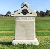 Herdenkingsmonument, Gettysburg, PA Stock Foto