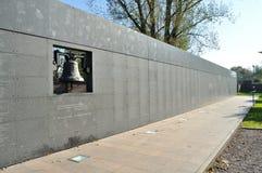 Herdenkingsmuur Stock Foto