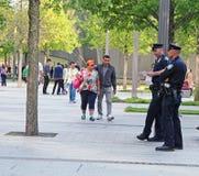 9/11 HerdenkingsPark Stock Foto's