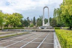 Herdenkingsprestatie in naam van het leven in Sotchi, Rusland stock fotografie