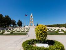 Herdenkingssteen in Anzac Cove Gallipoli royalty-vrije stock afbeeldingen