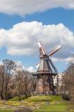 Herdentor väderkvarn i Bremen Royaltyfri Fotografi