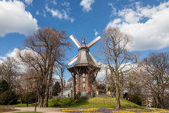 Herdentor Windmill in Bremen Stock Photography