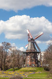 Herdentor Windmill in Bremen Royalty Free Stock Photography