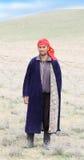Herder van Arabisch dorp Royalty-vrije Stock Foto's