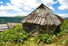 Herdersplattelandshuisje Stock Foto's