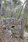 Herdsman stone house Stock Photos