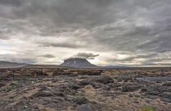 Herdubreid do vulcão em Islândia Fotografia de Stock