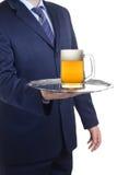 Hereâs su sir de la cerveza imágenes de archivo libres de regalías