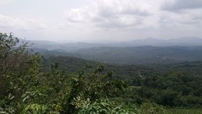 Range Of Mountains In Sri lanka stock image