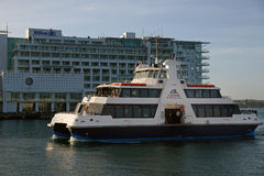 Here comes the ferry Stock Photography