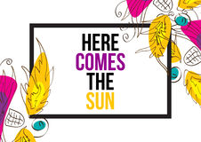 Here comes the sun Stock Photography