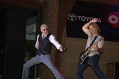 Here this:  Dennis DeYoung in Blue Ash Royalty Free Stock Photos