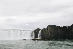 Iceland Waterfall royalty free stock photography