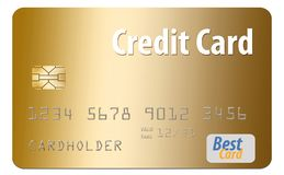 Free Here Is A Generic Credit Card Isolated On Al White Background. Royalty Free Stock Photo - 125482245