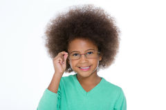Here is my new glasses Royalty Free Stock Photography